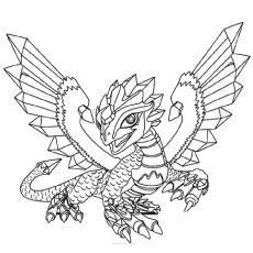 Free Printable Dragon Coloring Pages At Getdrawings Com