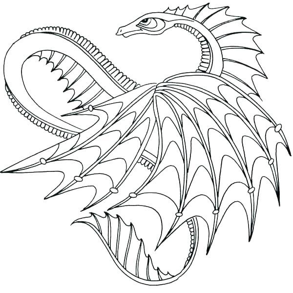 Free Printable Dragon Coloring Pages at GetDrawings.com ...
