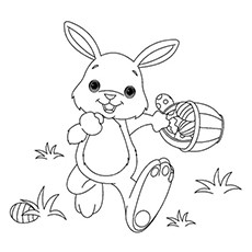 image regarding Free Printable Easter Bunny Coloring Pages named Totally free Printable Easter Bunny Coloring Internet pages at GetDrawings