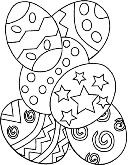 Free Printable Easter Coloring Pages For Preschoolers at GetDrawings ...