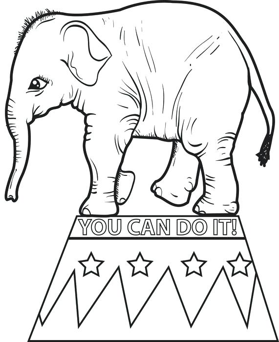 571x700 Printable Baby Elephant Coloring Pages Elephant Coloring Pages