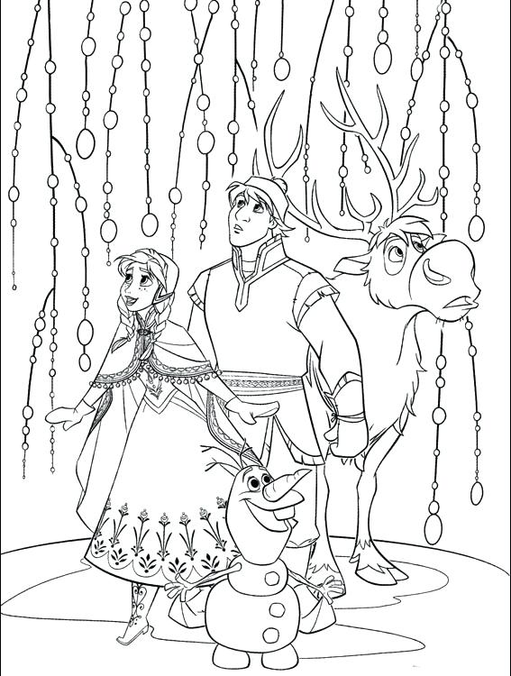 567x750 Elsa Coloring Pages Printable Elegant Frozen Coloring Pages
