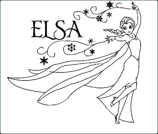 529x448 Free Printable Frozen Elsa Coloring Pages Free Frozen Coloring