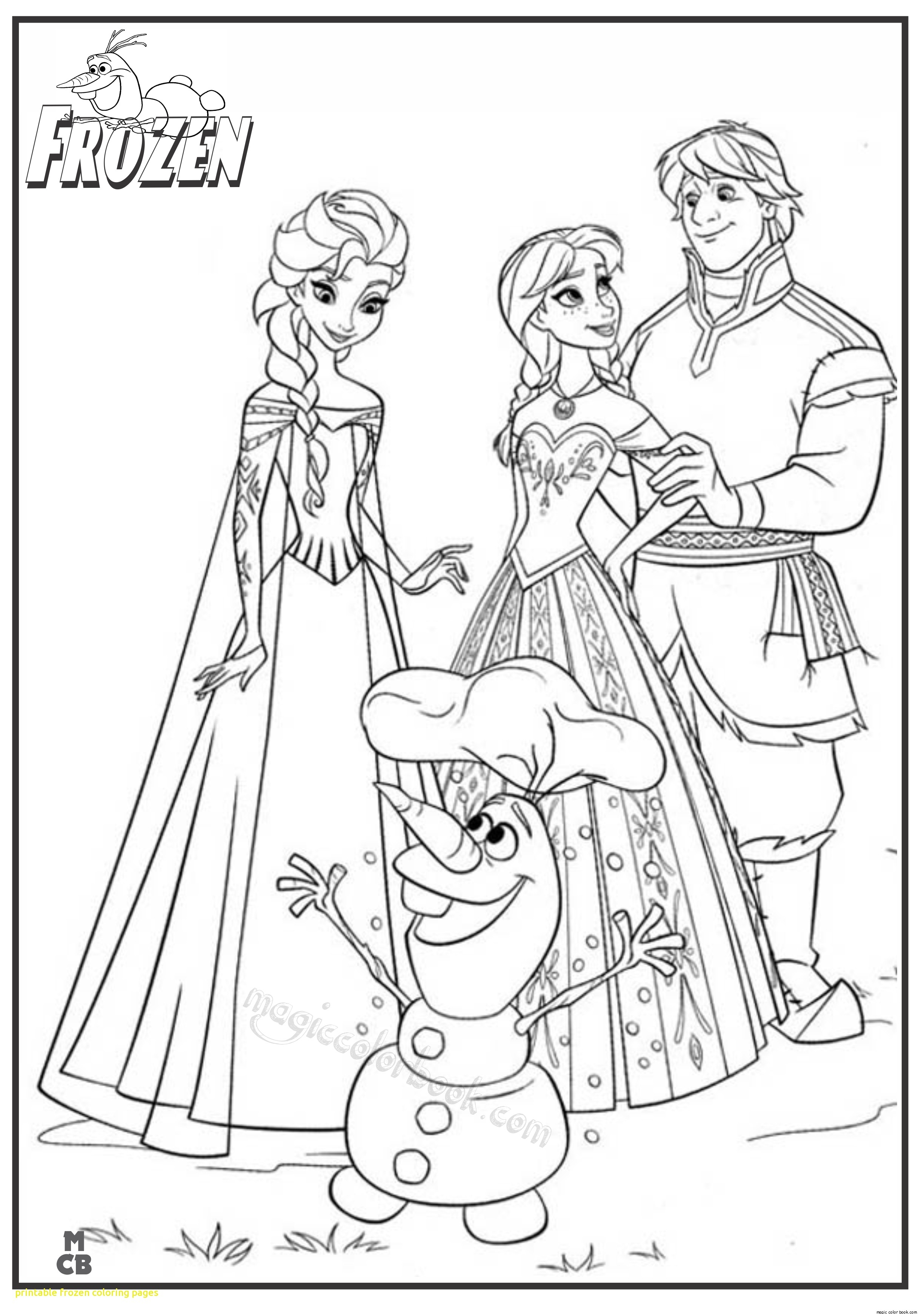 2449x3484 Printable Elsa From Frozen Coloring Pages Free Coloring Pages