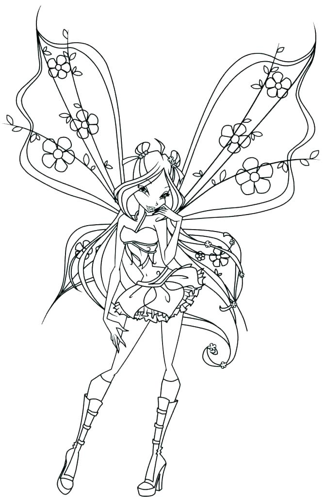 672x1024 Free Fairy Coloring Pages For Adults Best Fairy Coloring Pages