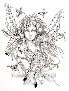 236x312 Free Printable Coloring Pages For Adults Fairies