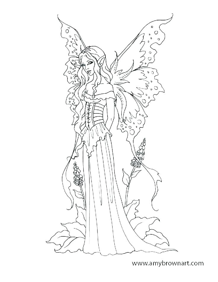 736x952 Free Printable Fairy Coloring Pages For Adults Fairies Coloring