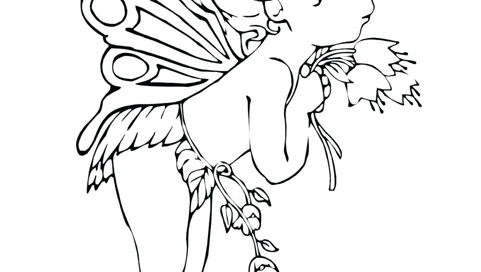 960x544 Free Printable Fairy Coloring Pages For Adults Fairy Coloring Page