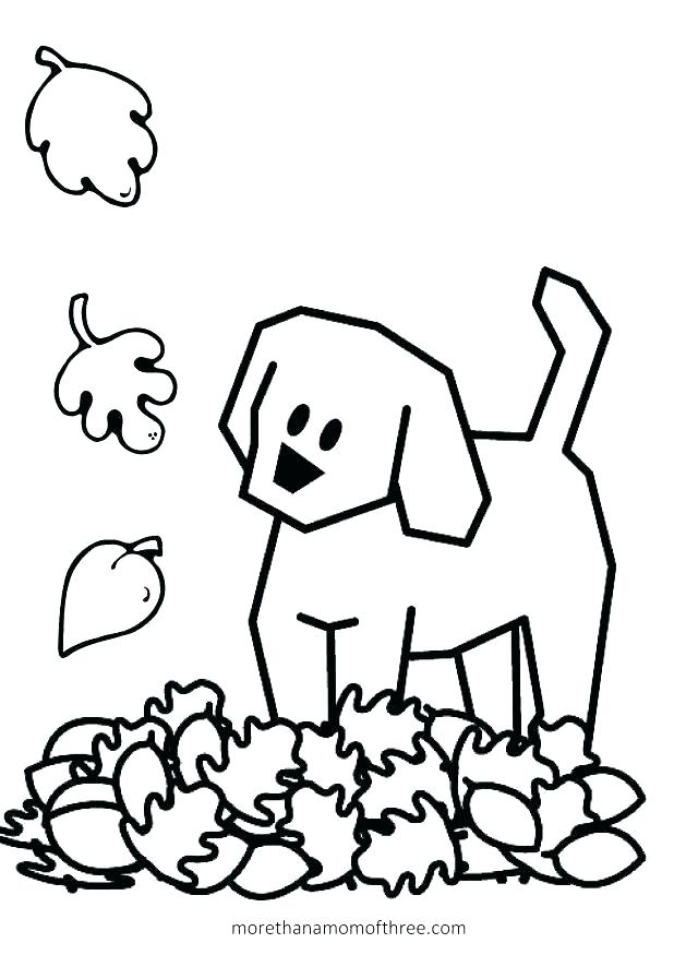 618x875 Fall Coloring Pages For Preschoolers For Kids Fine Motor Fun