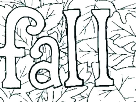 440x330 Fall Coloring Pages Free Fun Fall Coloring Pages Fun Fall Coloring