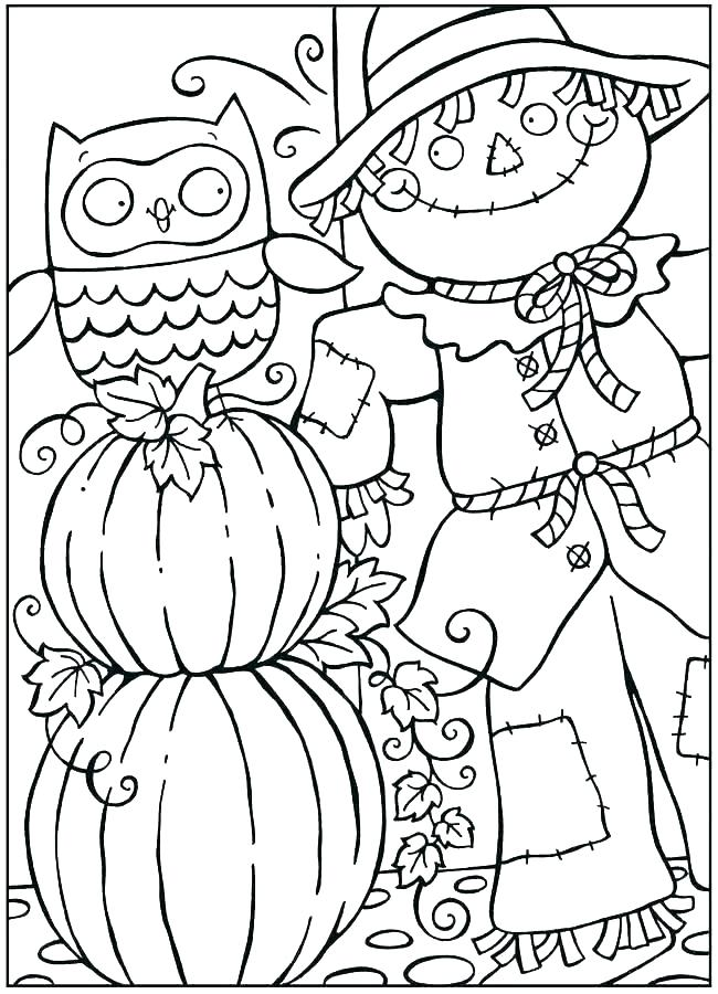 650x900 Free Autumn Coloring Pages Printable Free Autumn Coloring Pages