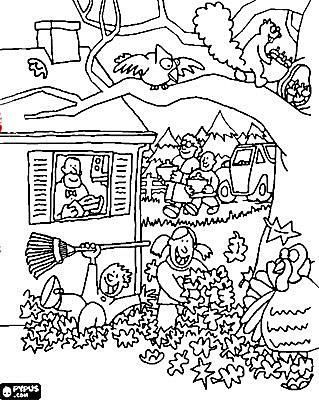 319x400 Free, Printable Autumn And Fall Coloring Pages