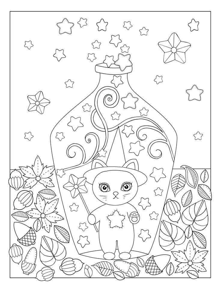 736x959 Autumn Season Coloring Pages Deepart