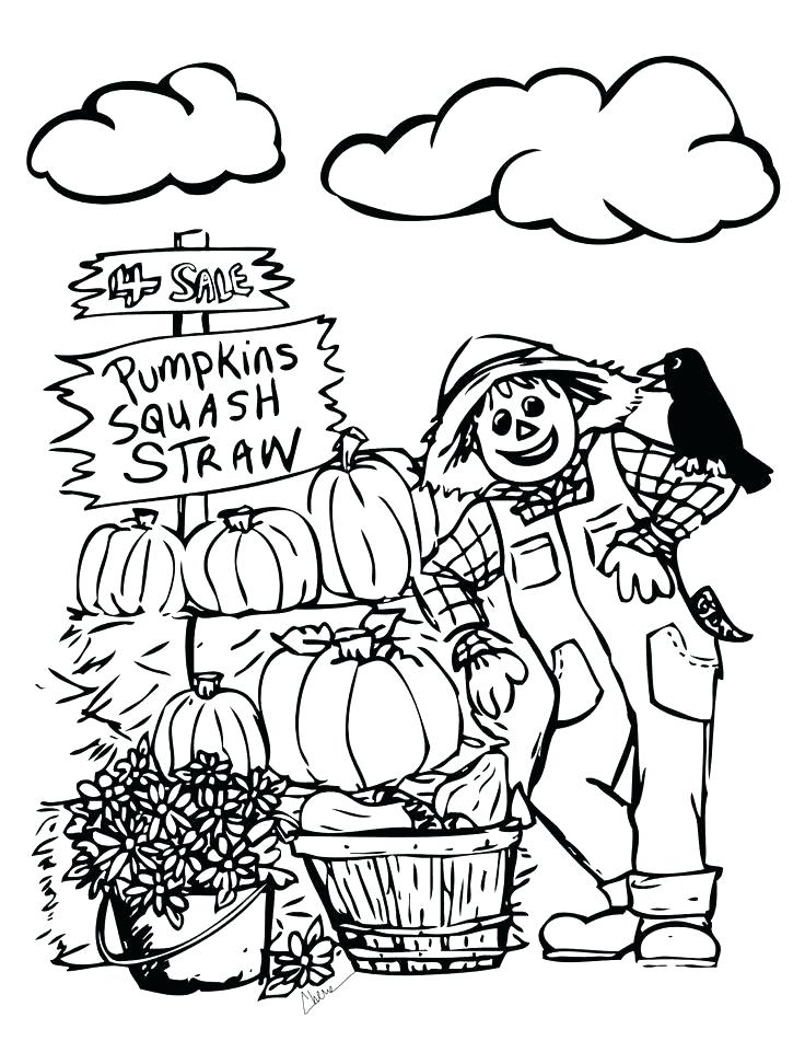 736x951 Fall Printable Coloring Pages Icontent