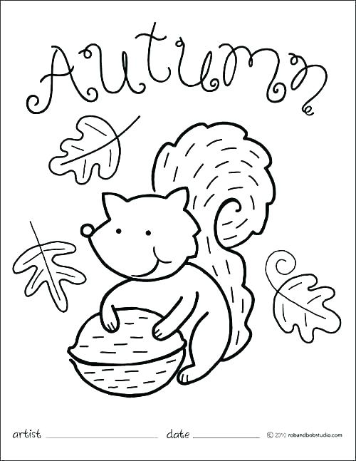 500x647 Printable Fall Coloring Pages