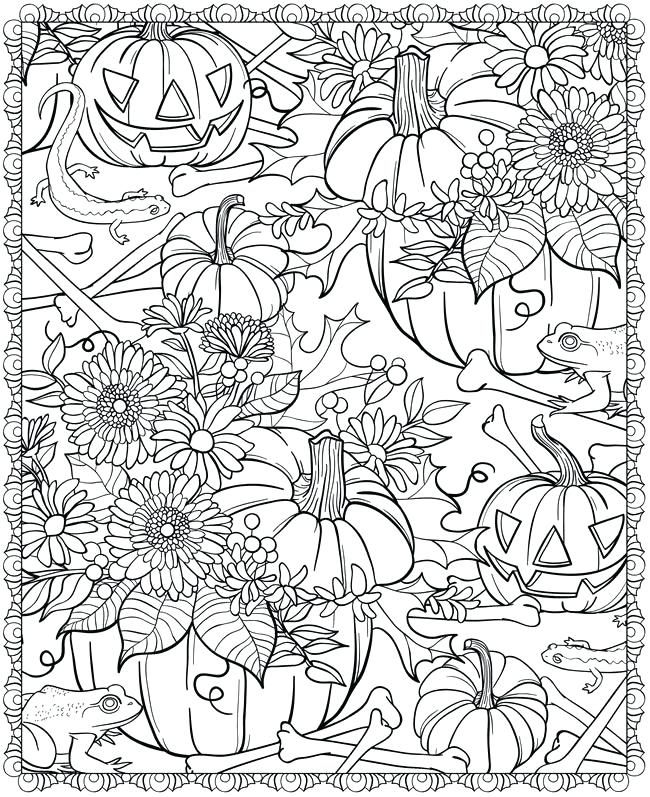 650x797 Autumn Coloring Pages For Adults Educational Coloring Pages