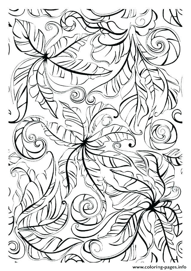 640x905 Autumn Coloring Pages Autumn Leaves Coloring Pages Autumn Leaf