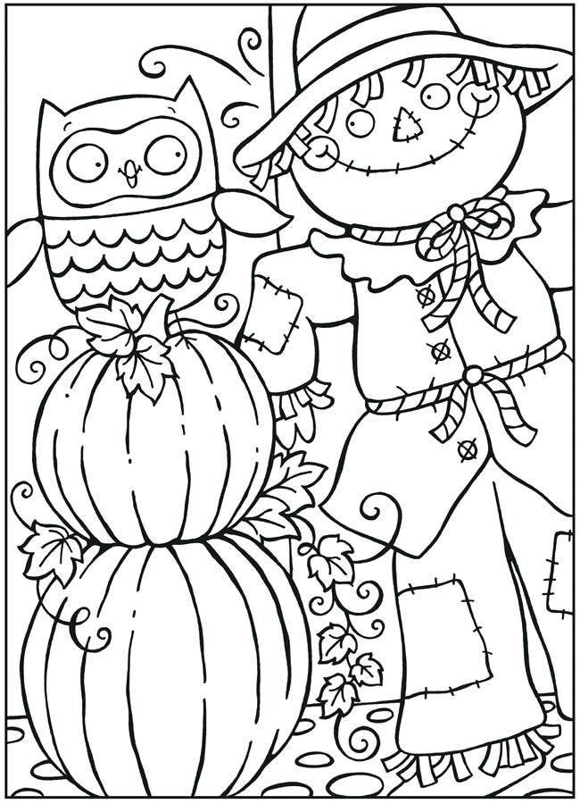 650x900 Pumpkin Coloring Patterns Fun For Free Printable Fall Colouring