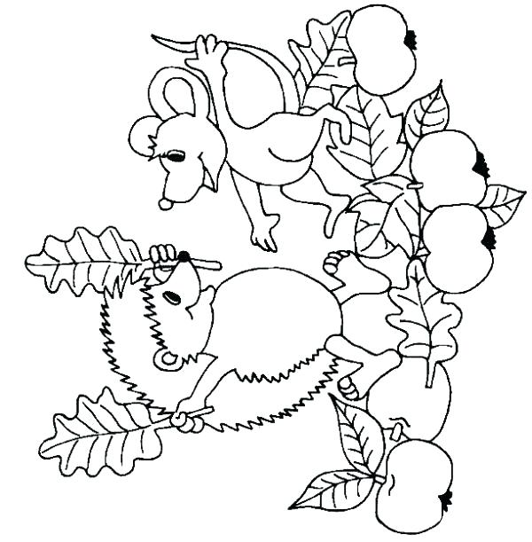 600x611 Tree Harvest Coloring Pages Free Printable Coloring Tree