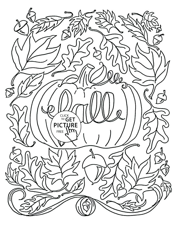 736x952 Autumn Coloring Pages Free It Is Fall Coloring Pages For Kids
