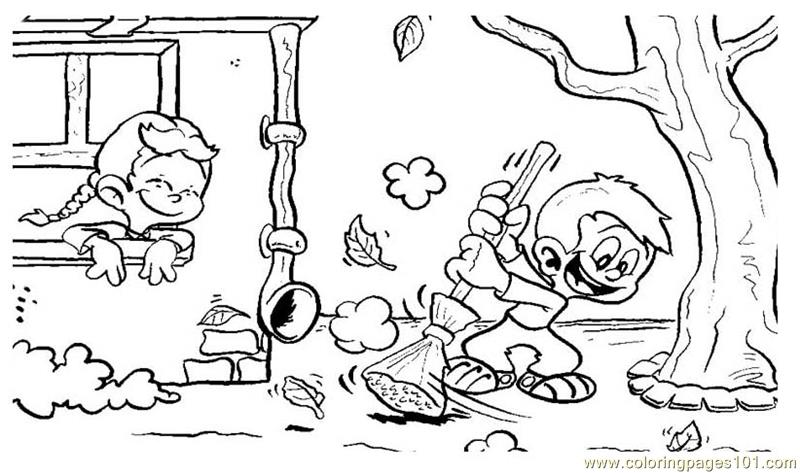 800x473 Coloring Pages Fall Harvest Natural World Autumn Free Printable