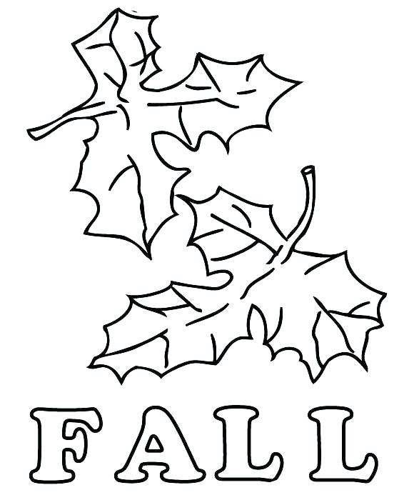 580x700 Fall Leaves Coloring Page Autumn Leaves Coloring Pages Leaves