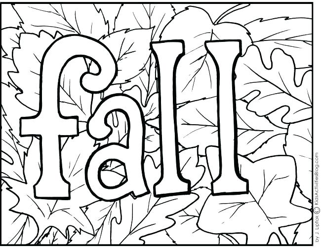 650x503 Fall Leaves Coloring Pages For Kindergarten Leaves Coloring Pages