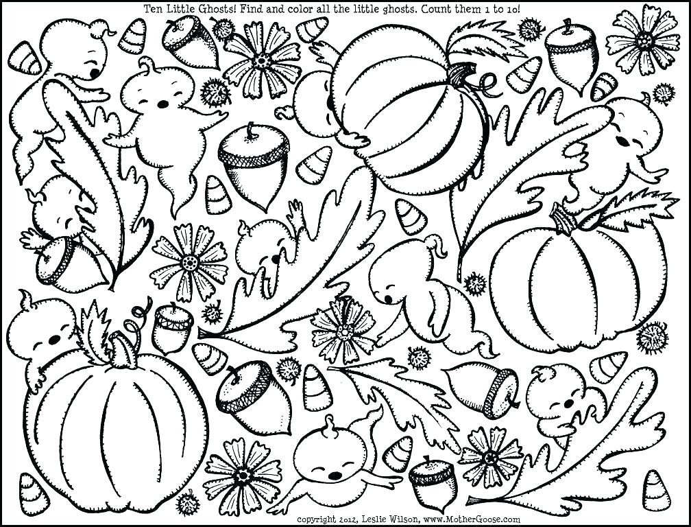 1008x768 Printable Leaves Coloring Pages Fall Leaves Coloring Pages