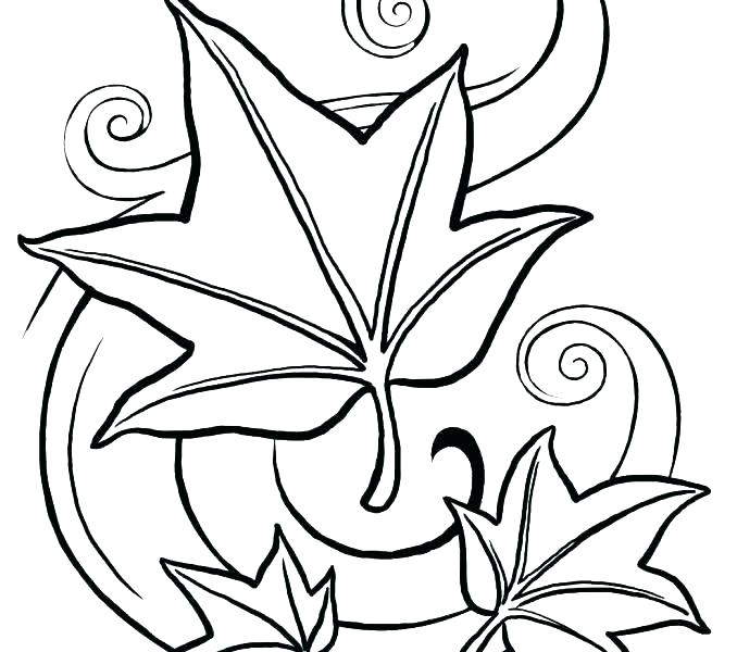 678x600 Coloring Pages Fall Printable Fall Leaves Coloring Pages Printable