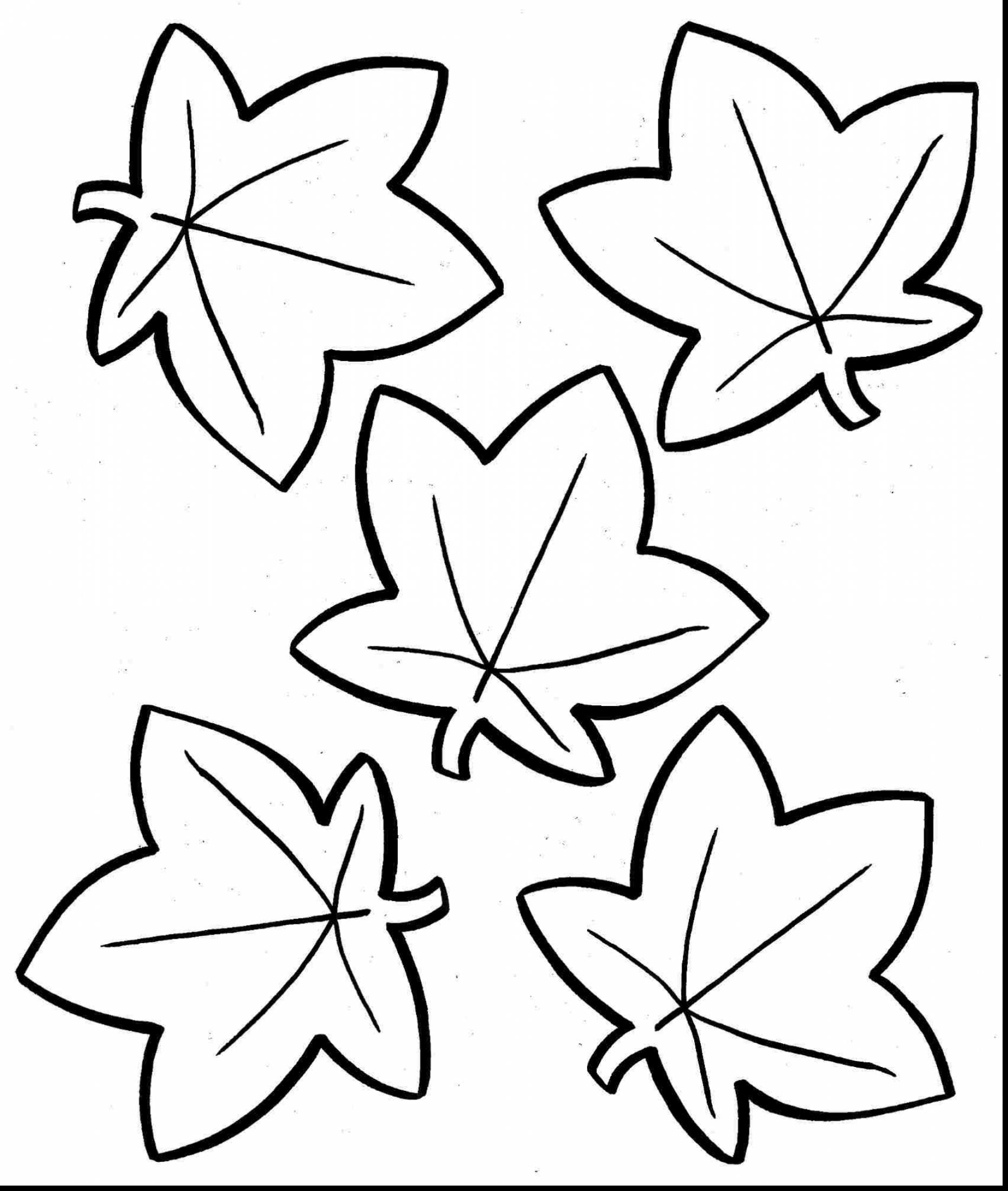 1863x2200 Cool Wonderful Fall Leaves Coloring Pages For Kids With Fall Color