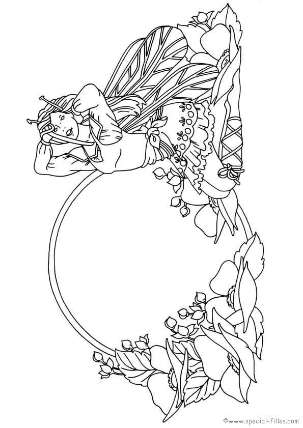 595x841 Fantasy Coloring Pages