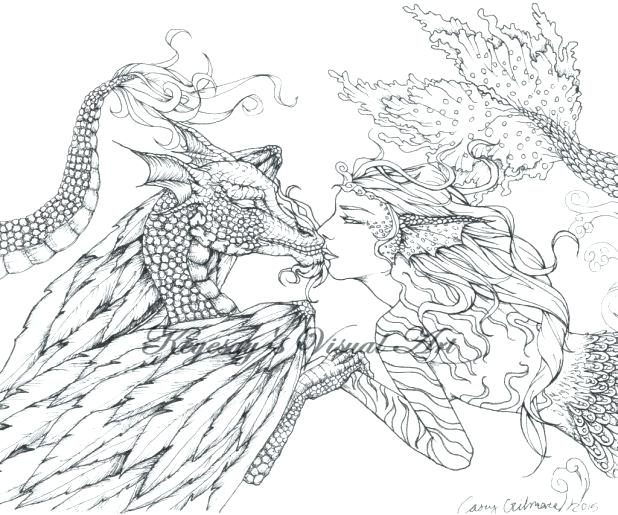 618x515 Fantasy Coloring Pages For Adults Educational Coloring Pages