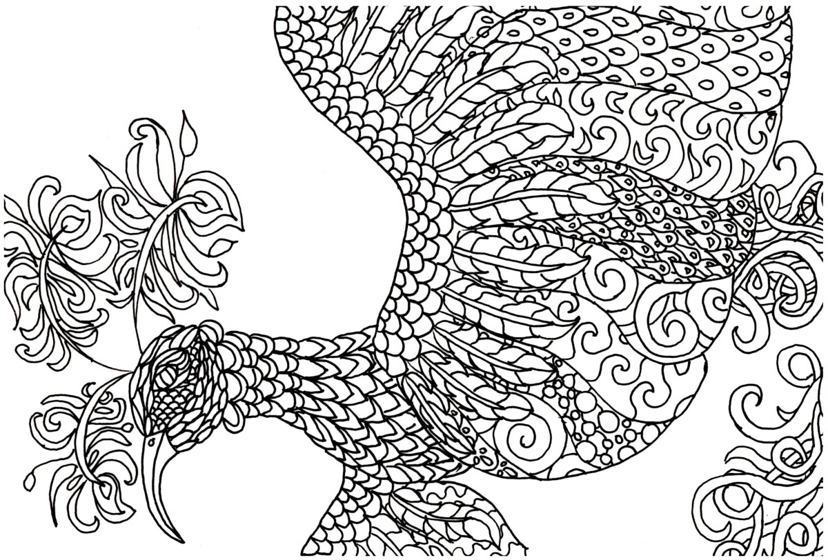 1200x812 Free Adult Coloring Pages Birds Free Coloring Sheets