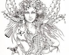 Free Printable Fantasy Coloring Pages For Adults at ...