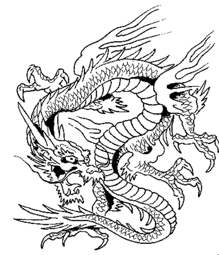 736x858 Adult Fantasy Coloring Pages