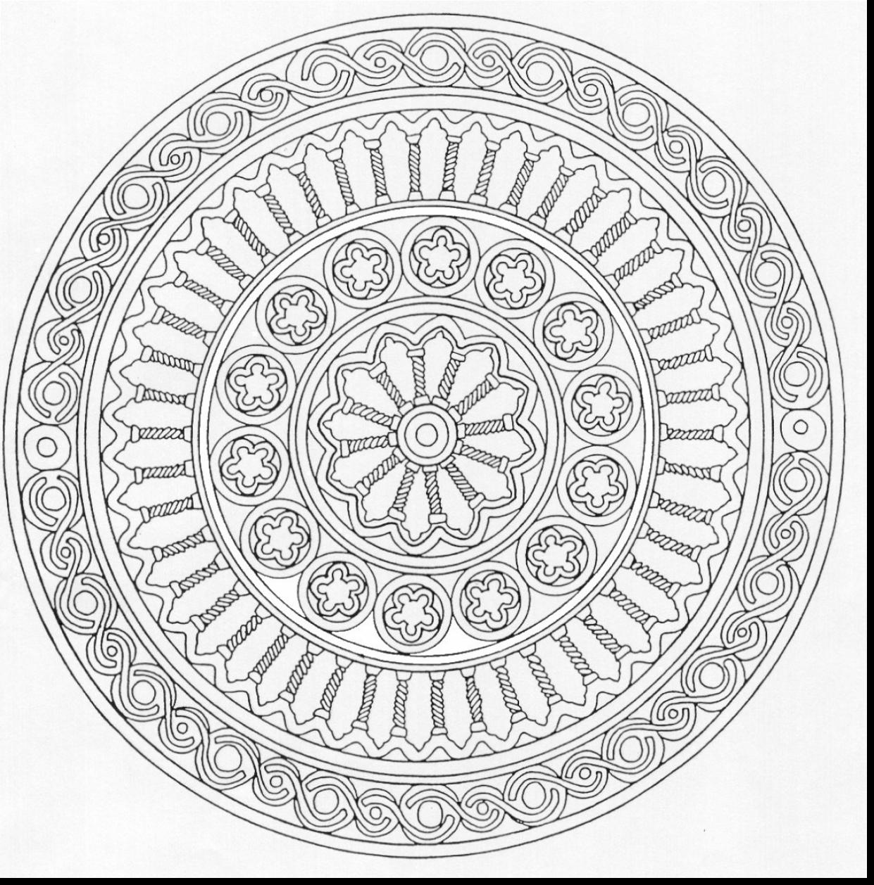 1241x1258 Wealth Free Printable Mandala Coloring Pages F