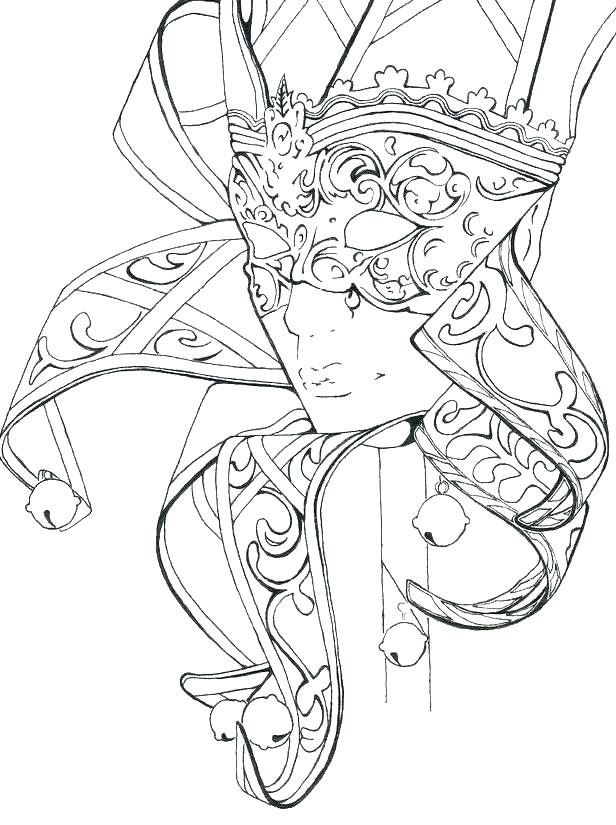 616x825 Fantasy Coloring Pages For Adults