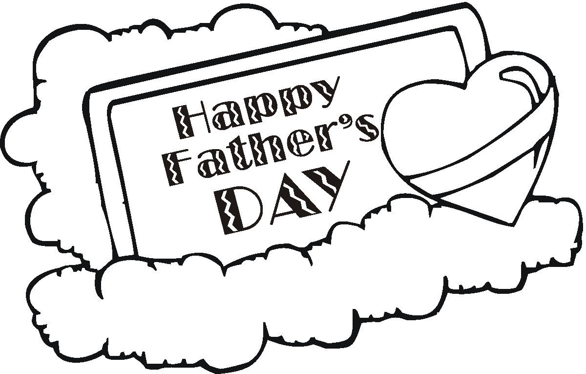 Free Printable Fathers Day Coloring Pages