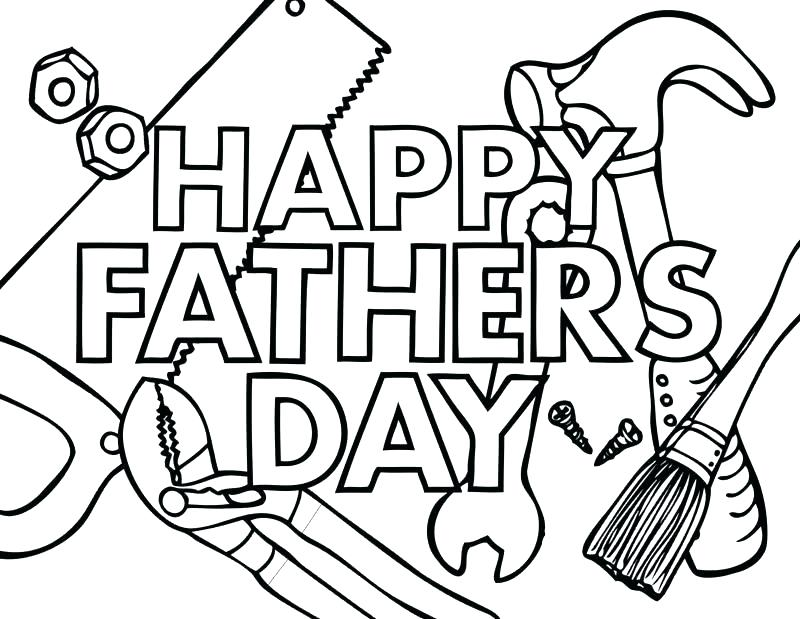 800x619 Fathers Day Coloring Pages Free Printable Fathers Day Coloring