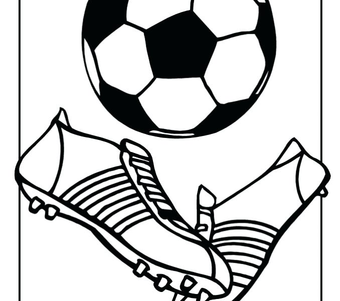 photograph relating to Free Printable Football named No cost Printable Soccer Coloring Internet pages at