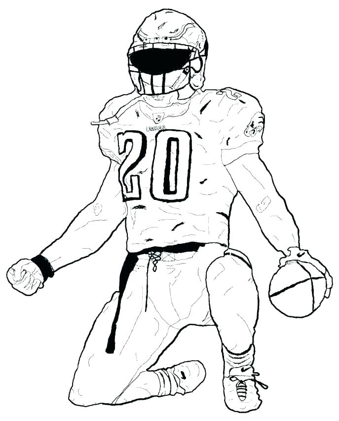 687x853 Football Coloring Page Ball Of Football Coloring Page Football