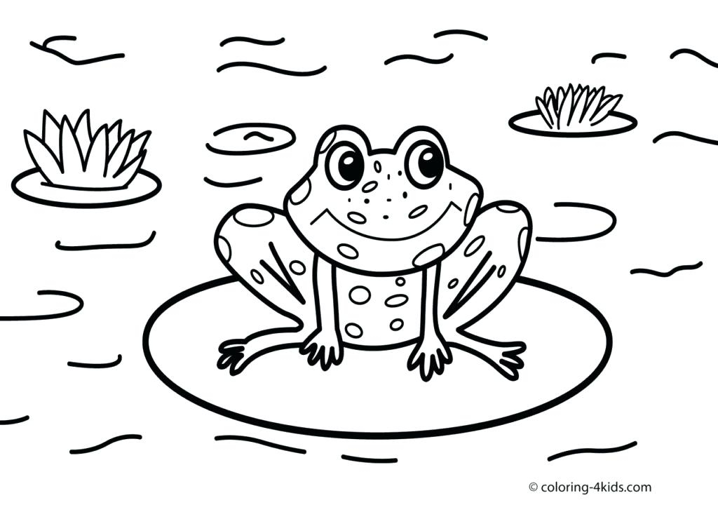 1024x730 Frog Coloring Pages For Preschoolers Printable Coloring Pages