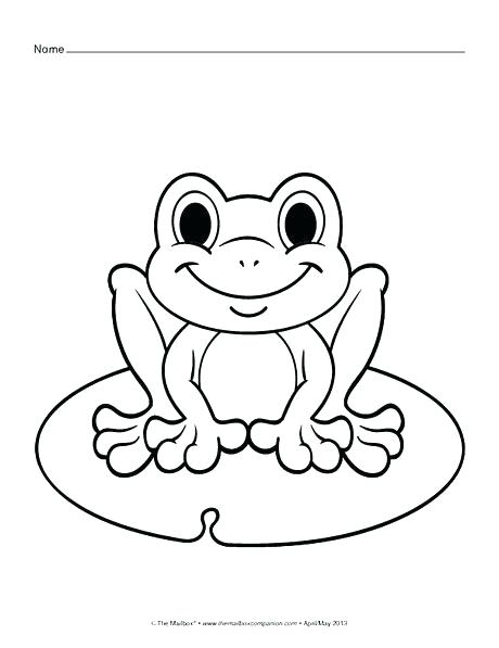 460x597 Frog Life Cycle Coloring Page Frog For Coloring Princess