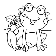 230x230 Clever Frog Coloring Pages Free Printable For Kids