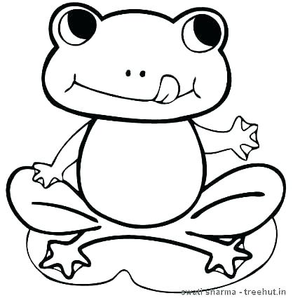 418x425 Coloring Pages Of Frogs Free Frog Coloring Pages Frog For Coloring