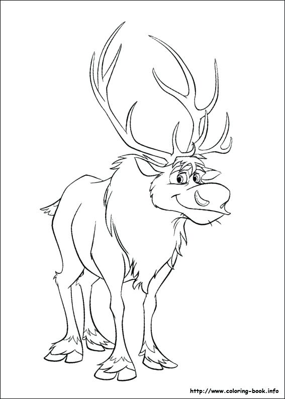 Free Printable Frozen Coloring Pages at GetDrawings.com | Free for ...