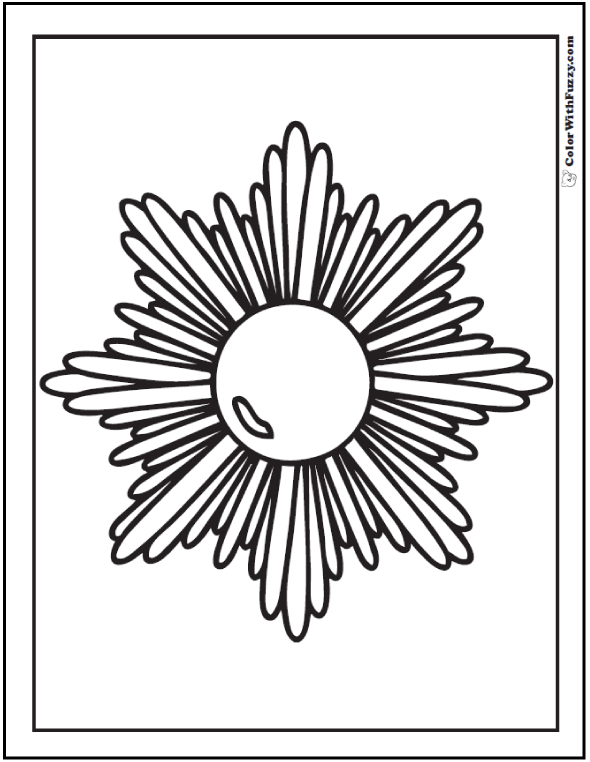 Free Printable Geometric Coloring Pages at GetDrawings.com ...