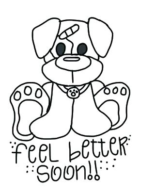 Free Printable Get Well Soon Coloring Pages at GetDrawings ...