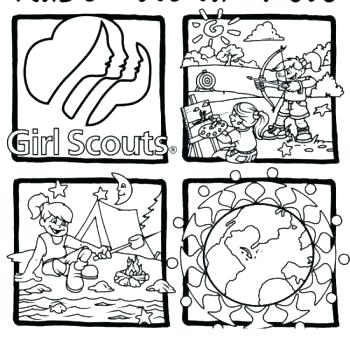 350x350 Daisy Girl Scout Coloring Pages Printable Best Gs Coloring Pages