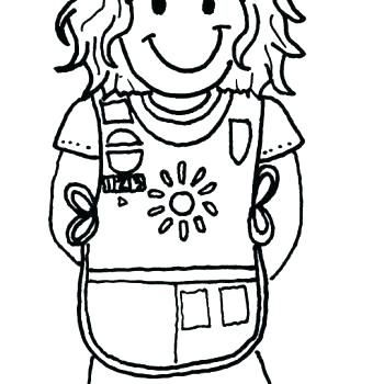 350x350 Nice Daisy Girl Scout Coloring Pages Girl Scout Daisy Journey